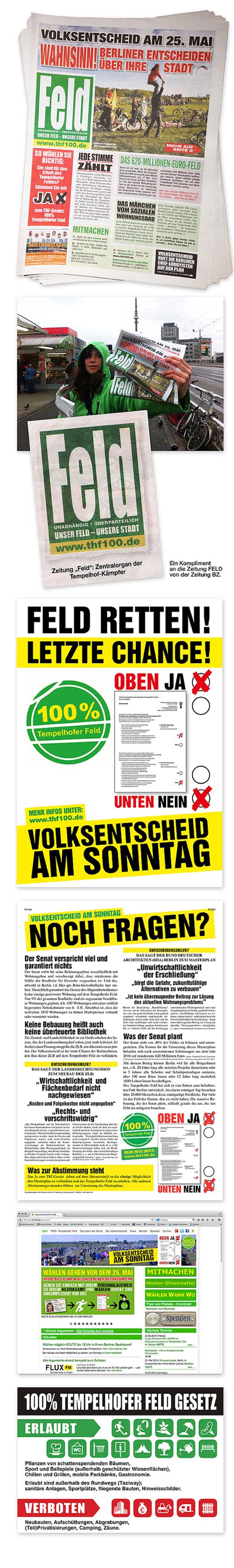 Bürgerinitiative 100% Tempelhofer Feld, Flughafen Tempelhof, BER, Berlinerzeitung, BZ, Tagesspiegel, Masterplan Senat